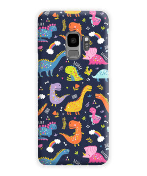 Funny Dinosaurs Cartton Kids for Stylish Samsung Galaxy S9 Case Cover