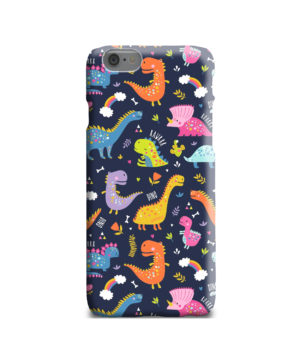 Funny Dinosaurs Cartton Kids for Trendy iPhone 6 Case Cover