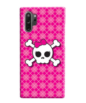 Girl Pink Skull for Best Samsung Galaxy Note 10 Plus Case