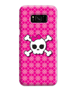 Girl Pink Skull for Cute Samsung Galaxy S8 Plus Case Cover