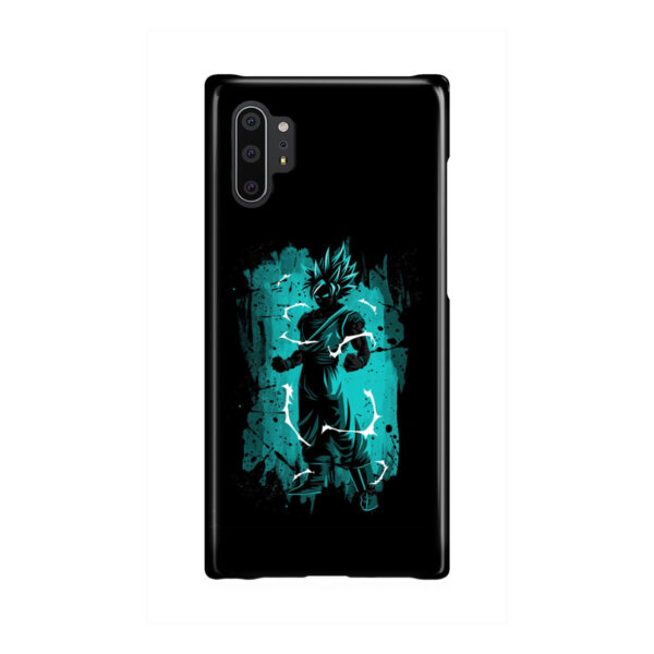 Goku Super Ultra Instinct for Custom Samsung Galaxy Note 10 Plus Case Cover
