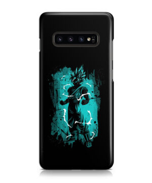Goku Super Ultra Instinct for Custom Samsung Galaxy S10 Plus Case