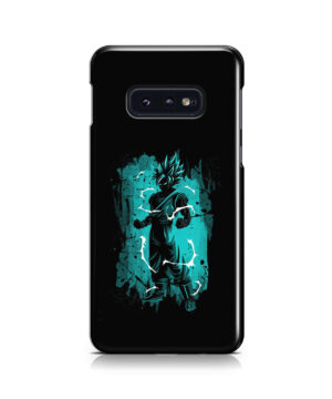 Goku Super Ultra Instinct for Nice Samsung Galaxy S10e Case