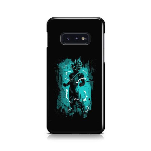 Goku Super Ultra Instinct for Nice Samsung Galaxy S10e Case