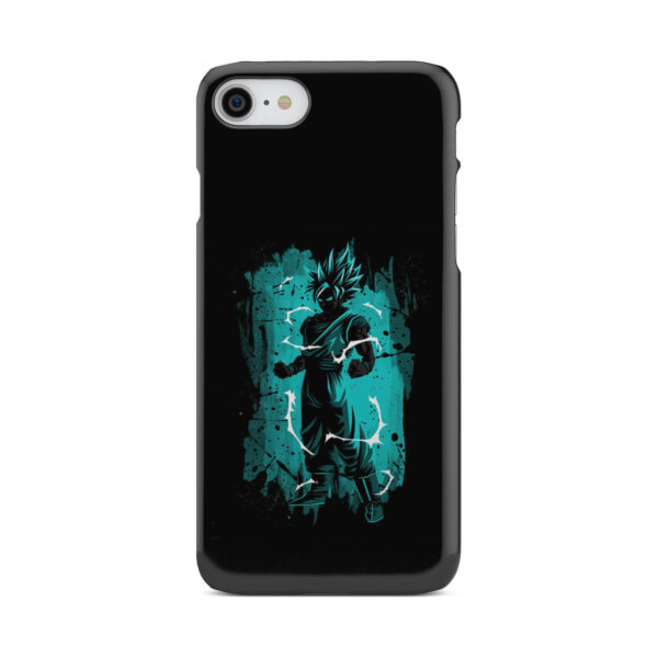 Goku Super Ultra Instinct for Personalised iPhone 8 Case Cover
