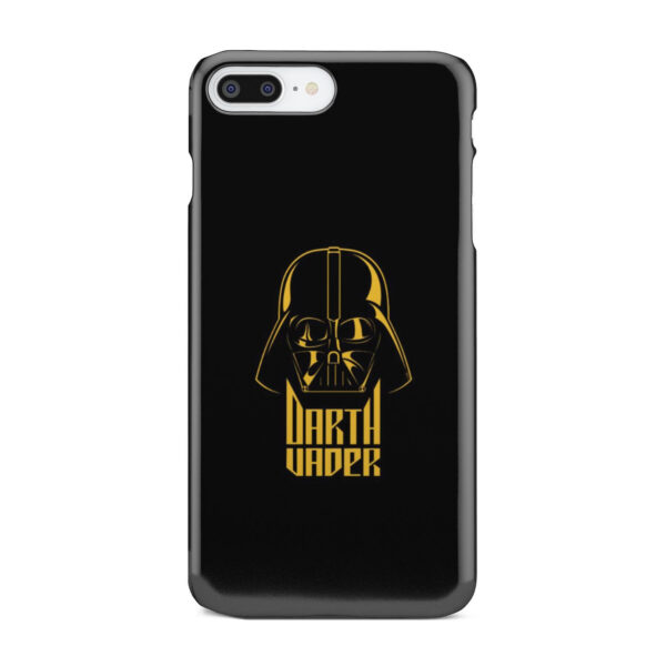 Gold Darth Vader for Best iPhone 8 Plus Case Cover