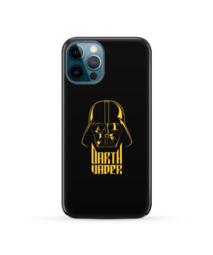 Gold Darth Vader for Custom iPhone 12 Pro Case