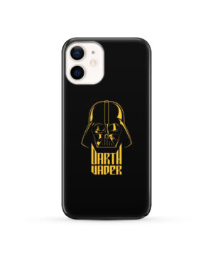 Gold Darth Vader for Customized iPhone 12 Case