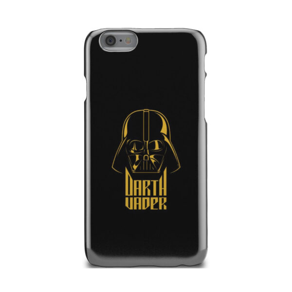 Gold Darth Vader for Customized iPhone 6 Case Cover