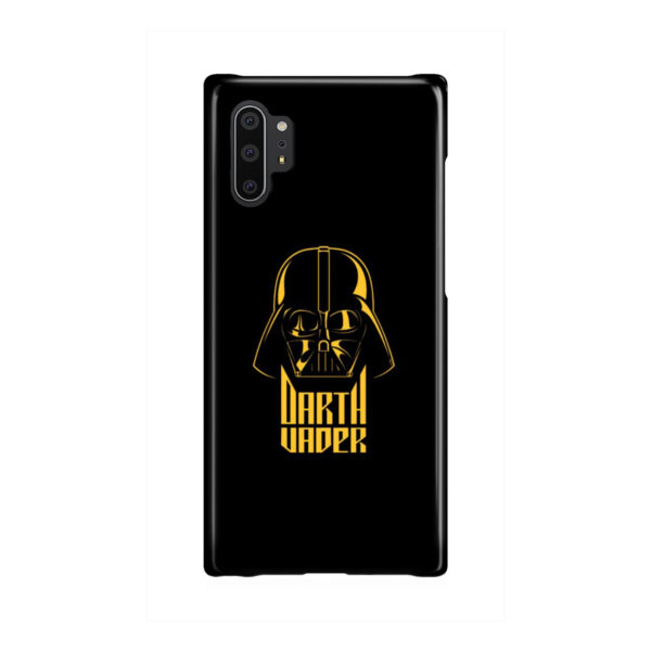 Gold Darth Vader for Customized Samsung Galaxy Note 10 Plus Case Cover