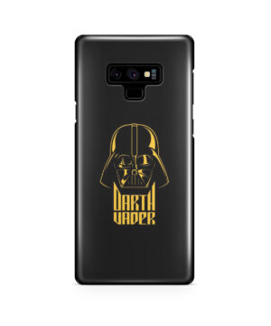 Gold Darth Vader for Cute Samsung Galaxy Note 9 Case