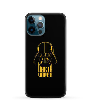 Gold Darth Vader for Newest iPhone 12 Pro Max Case Cover