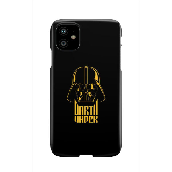 Gold Darth Vader for Personalised iPhone 11 Case