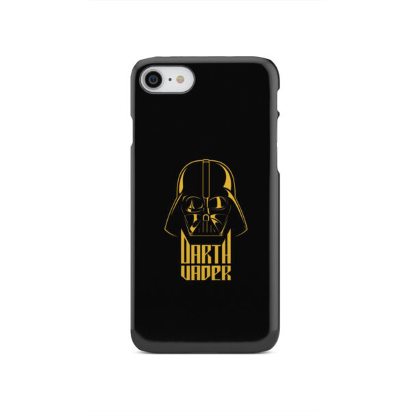 Gold Darth Vader for Personalised iPhone SE 2020 Case Cover