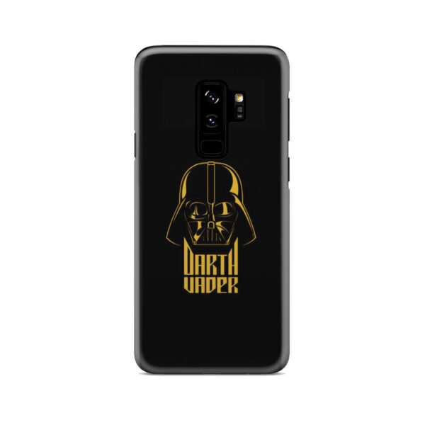 Gold Darth Vader for Personalised Samsung Galaxy S9 Plus Case Cover