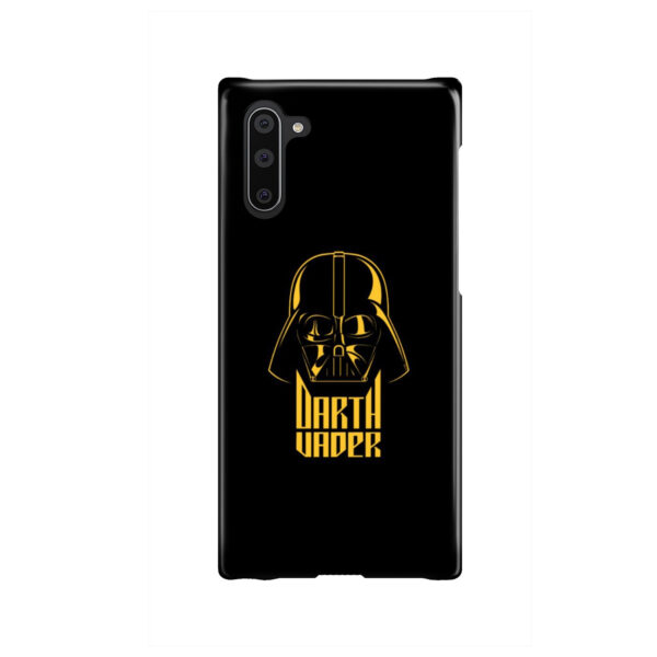 Gold Darth Vader for Premium Samsung Galaxy Note 10 Case Cover