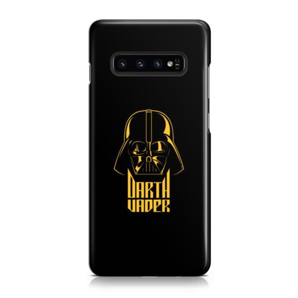 Gold Darth Vader for Premium Samsung Galaxy S10 Case Cover