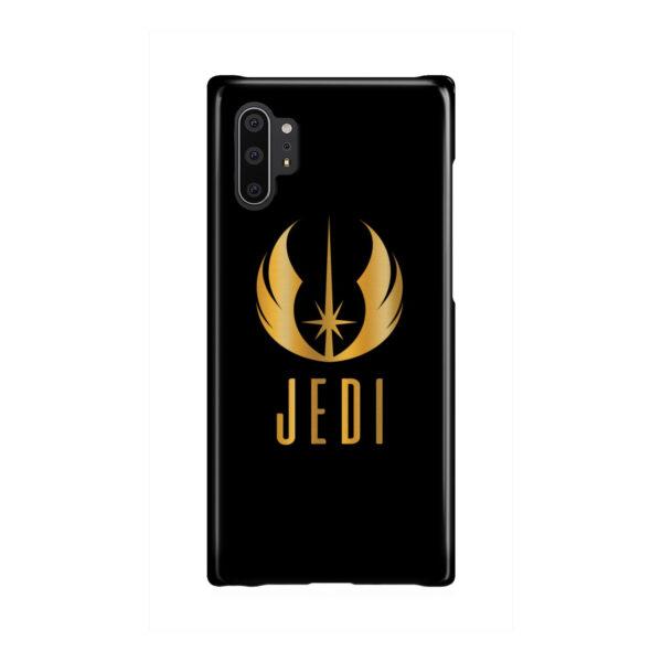 Gold Jedi Fallen Symbol for Best Samsung Galaxy Note 10 Plus Case