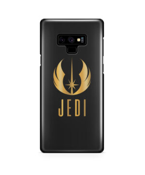 Gold Jedi Fallen Symbol for Cool Samsung Galaxy Note 9 Case Cover