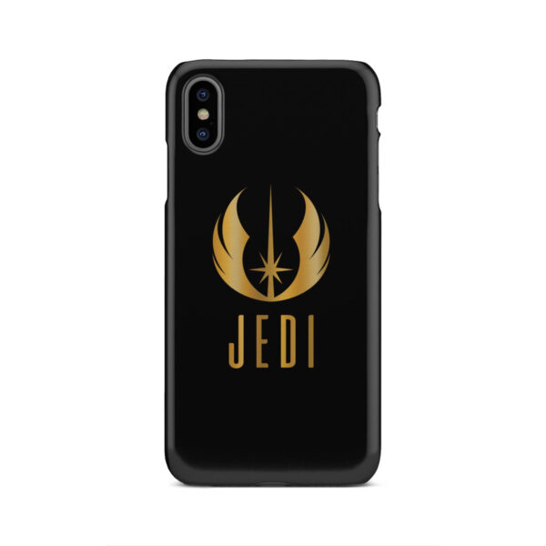 Gold Jedi Fallen Symbol for Custom iPhone XS Max Case Cover