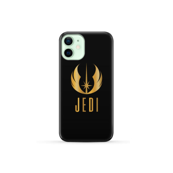 Gold Jedi Fallen Symbol for Cute iPhone 12 Mini Case Cover