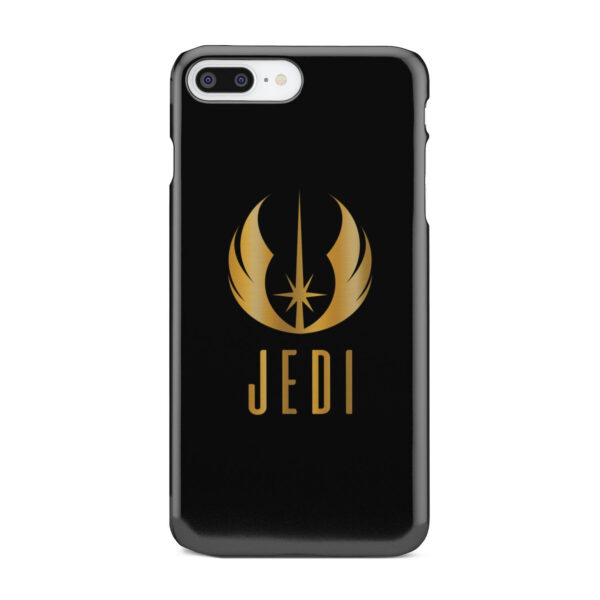 Gold Jedi Fallen Symbol for Personalised iPhone 7 Plus Case Cover
