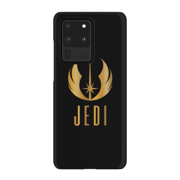 Gold Jedi Fallen Symbol for Personalised Samsung Galaxy S20 Ultra Case Cover