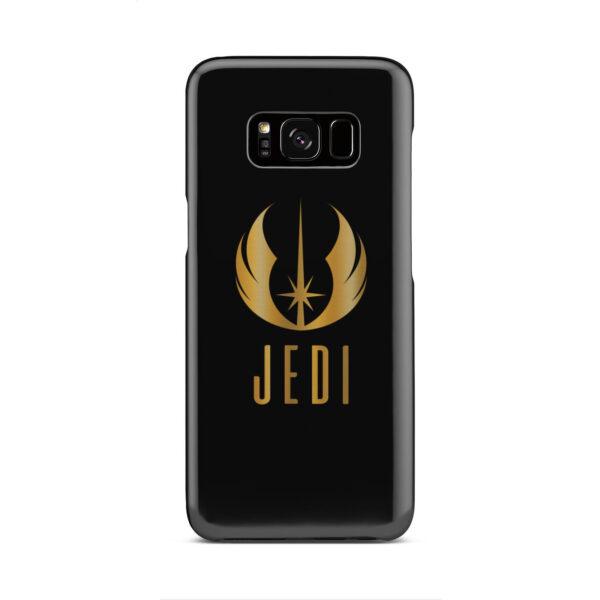 Gold Jedi Fallen Symbol for Personalised Samsung Galaxy S8 Case