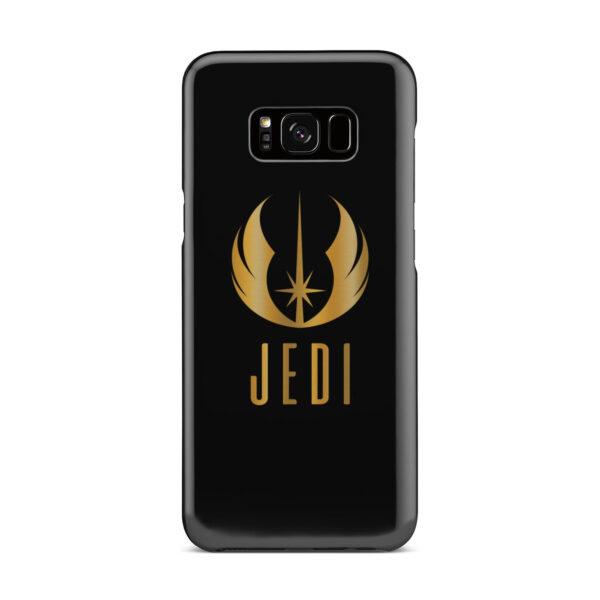 Gold Jedi Fallen Symbol for Personalised Samsung Galaxy S8 Plus Case