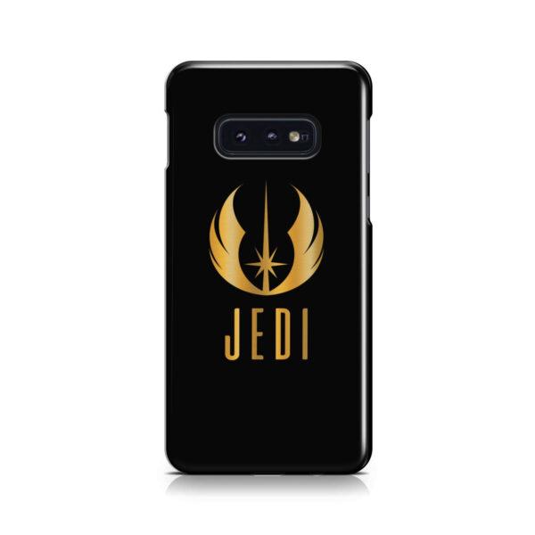 Gold Jedi Fallen Symbol for Simple Samsung Galaxy S10e Case Cover