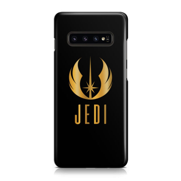 Gold Jedi Fallen Symbol for Stylish Samsung Galaxy S10 Plus Case Cover
