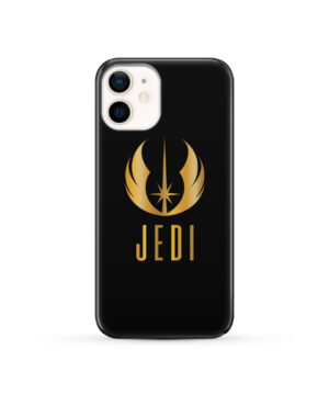 Gold Jedi Fallen Symbol for Trendy iPhone 12 Case Cover