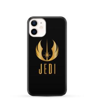 Gold Jedi Fallen Symbol for Trendy iPhone 12 Case Cover