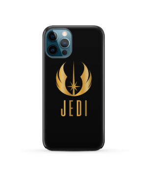 Gold Jedi Fallen Symbol for Trendy iPhone 12 Pro Case