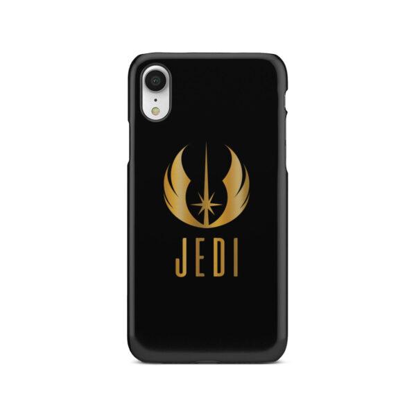 Gold Jedi Fallen Symbol for Unique iPhone XR Case