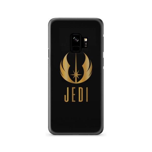 Gold Jedi Fallen Symbol for Unique Samsung Galaxy S9 Case Cover