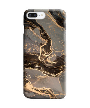 Golden Smoke Marble for Best iPhone 8 Plus Case