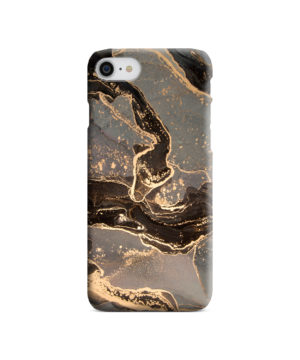 Golden Smoke Marble for Best iPhone SE (2020) Case Cover