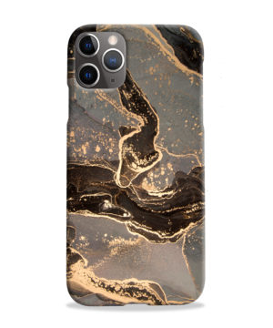 Golden Smoke Marble for Cool iPhone 11 Pro Max Case