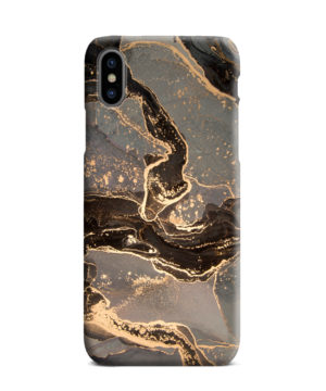 Golden Smoke Marble for Newest iPhone XS Max Case