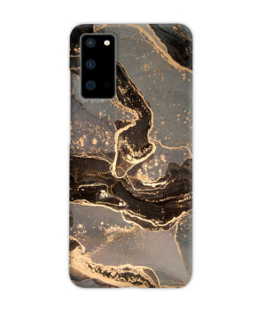 Golden Smoke Marble for Personalised Samsung Galaxy S20 Case Cover