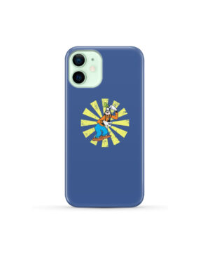 Goofy Cartoon for Newest iPhone 12 Mini Case Cover