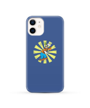 Goofy Cartoon for Unique iPhone 12 Case Cover