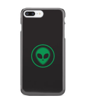 Green Alien Face for Beautiful iPhone 7 Plus Case