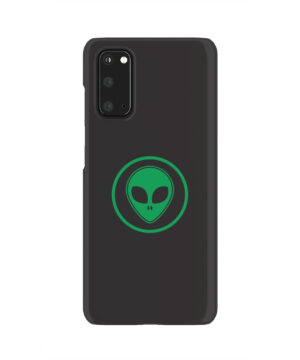 Green Alien Face for Best Samsung Galaxy S20 Case Cover