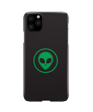 Green Alien Face for Cool iPhone 11 Pro Max Case Cover