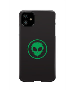 Green Alien Face for Custom iPhone 11 Case