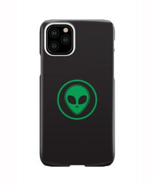 Green Alien Face for Custom iPhone 11 Pro Case
