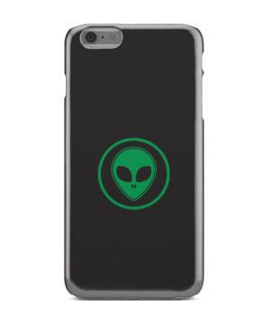 Green Alien Face for Custom iPhone 6 Plus Case