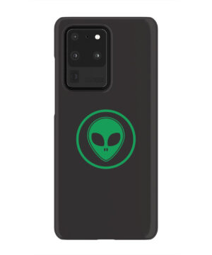 Green Alien Face for Custom Samsung Galaxy S20 Ultra Case